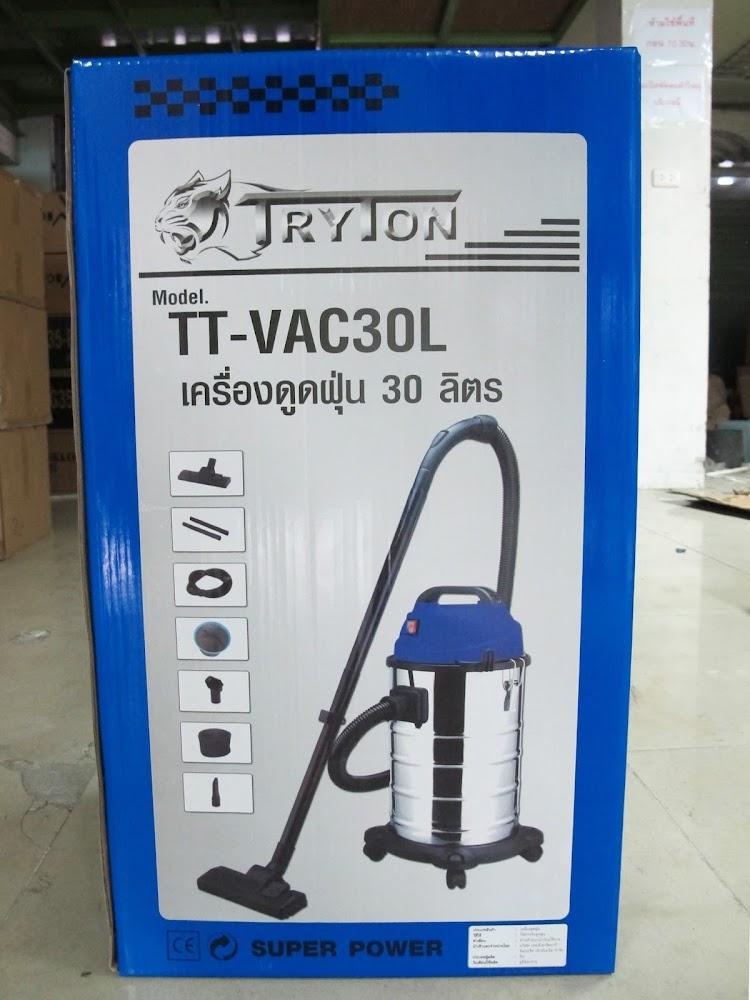 เครื่องดูดฝุ่น ดูดน้ำ ขนาด 30 ลิตร รุ่น TT-VAC30L