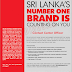 Vacancy In Singer (Sri Lanka) PLC.