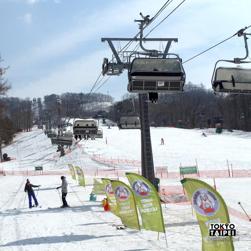 【輕井澤王子大飯店滑雪場】滑雪初體驗 適合初學者的滑雪場