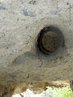 Habitations troglodytes de Monton, Auvergne.