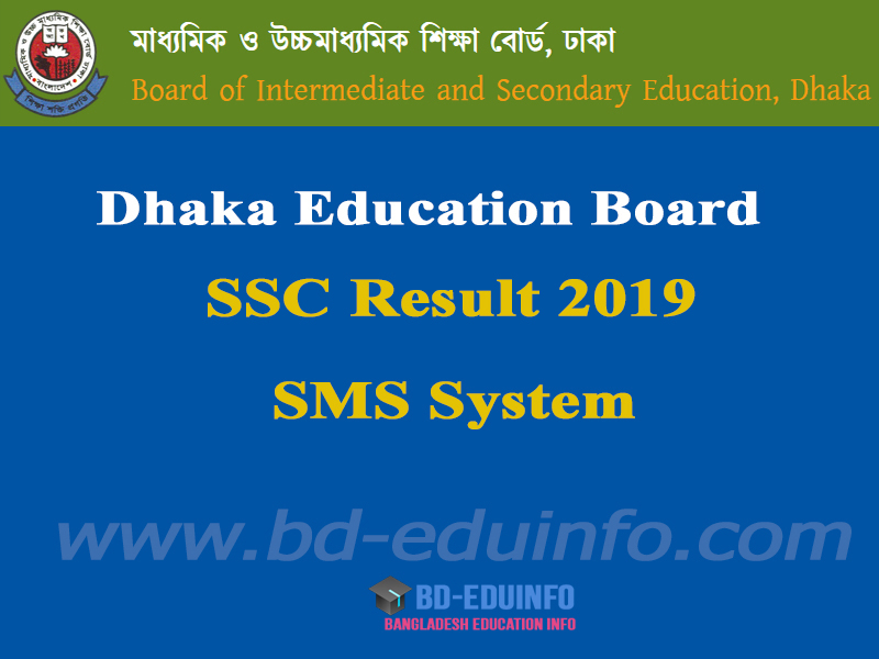 Dhaka Board SSC Result 2019