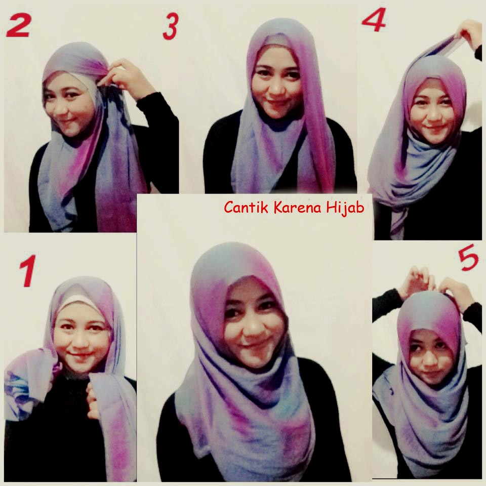85 Koleksi Tutorial Hijab Segi Empat Dua Lapis Untuk Kamu
