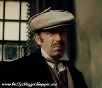 Boryslav Brondukov as Inspector Lestrade in Bloody Inscription
