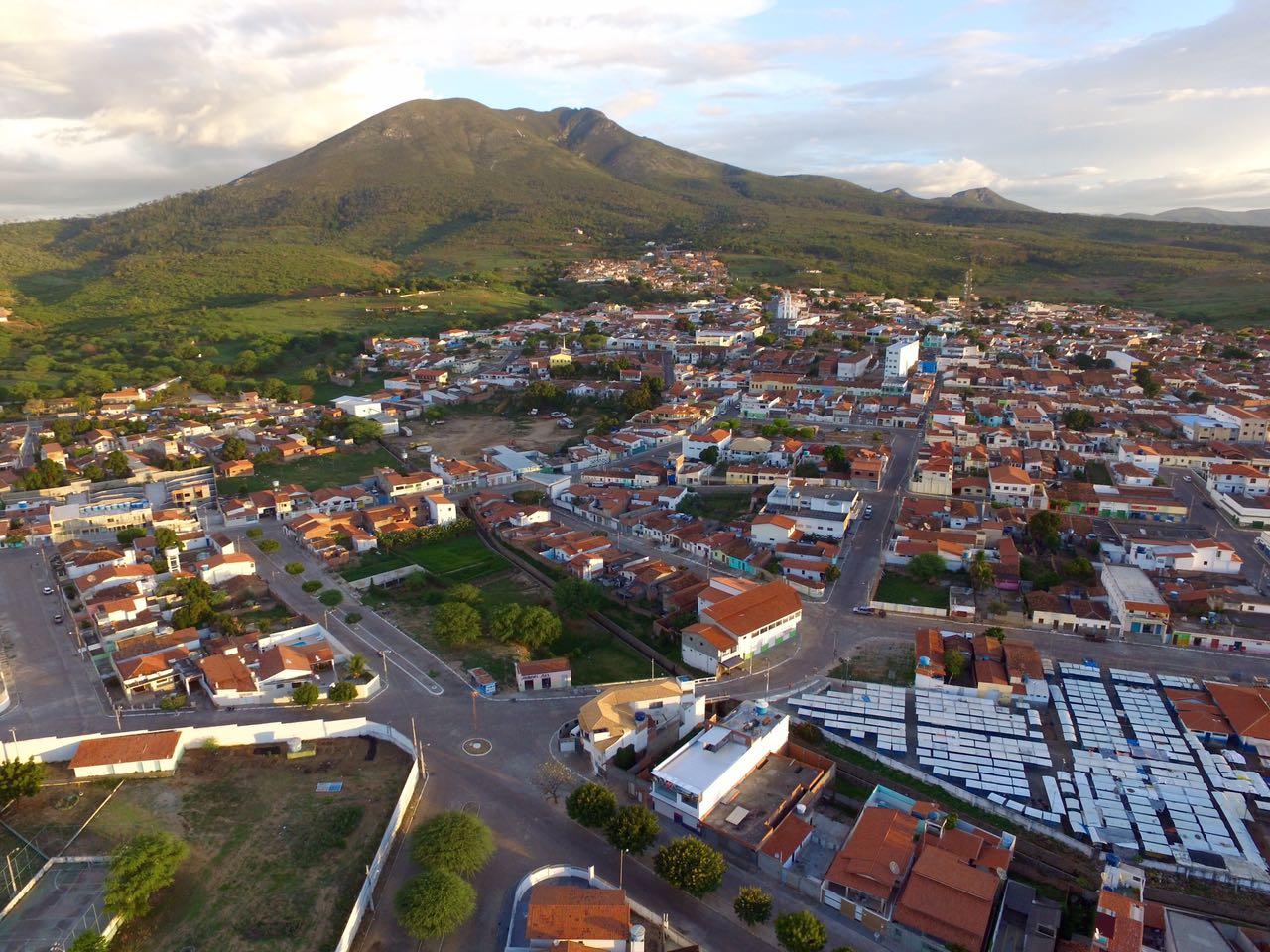 Vista aérea de Ruy Barbosa Bahia