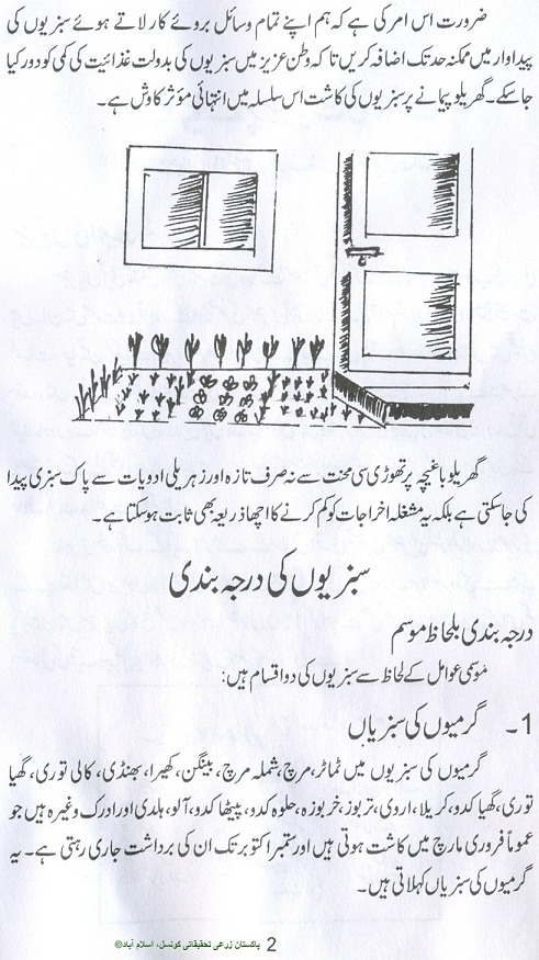 This is  complete kitchen gardening book in urdu language originally published by pakistan agriculture research council islamabad also how to grow vegetables  fruits guide rh noonwalqalamspot