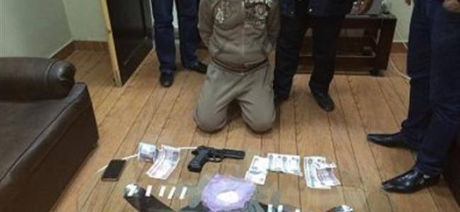 ''القبض على(عكوش) تاجر مخدرات سيدى سالم بكفر الشيخ''