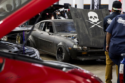 Death Proof Toyota Celica at Car Show