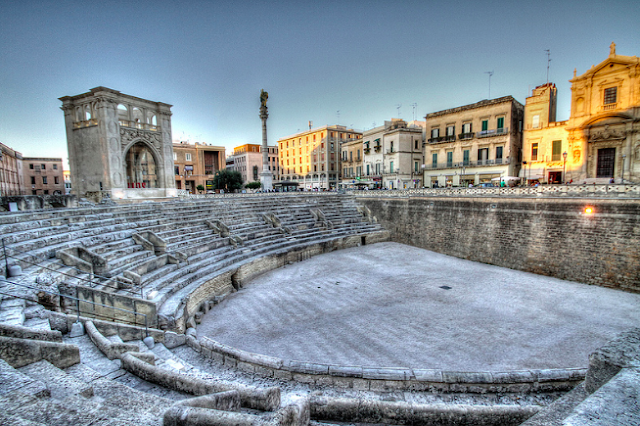 Lecce is the largest city of the Salento Peninsula, Puglia
