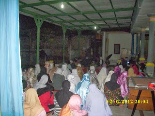 siraman rohani peserta Kursus di VOC kampung inggris pare kediri