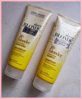 John Frieda Sheer Blonde Sarı Saçlar İçin Güneş Işıltısı Veren Şampuan ve Saç Kremi
