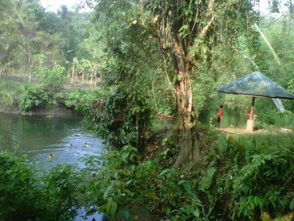 Foto Foto Objek Wisata Permandian Alam Air Panas Tahaya Haya Mamuju Gepeji