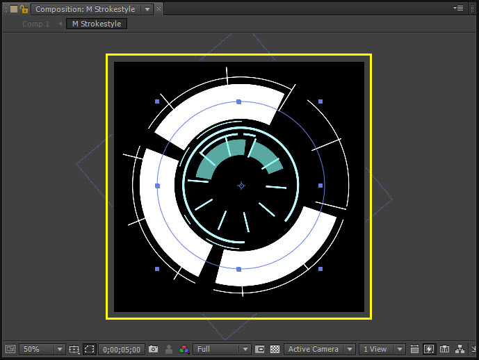 Futuristic UI 01