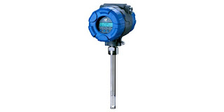 thermal dispersion mass flow meter insertion type