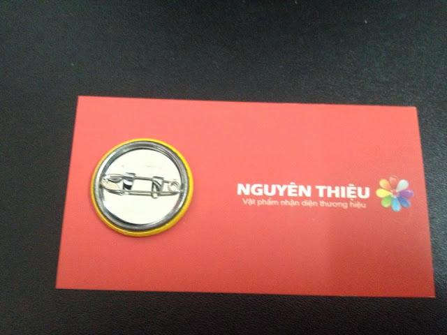 Sản xuất huy hiệu bảng tên nhân viên tại tp.HCM