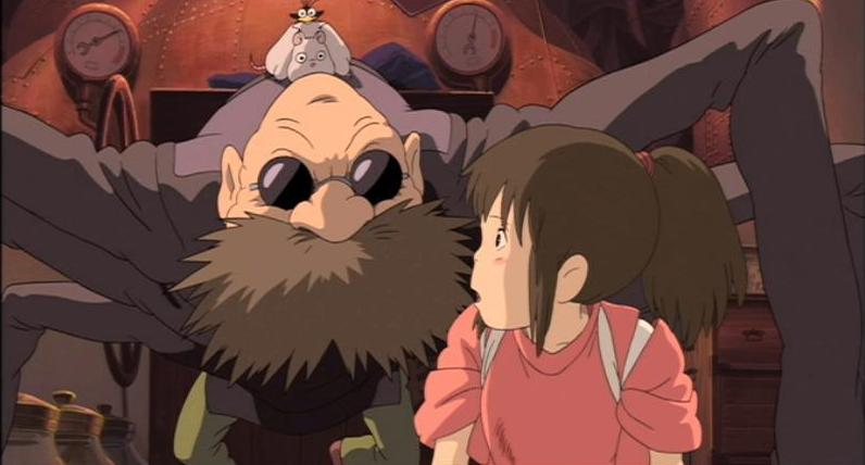 Post And Share Spirited Away