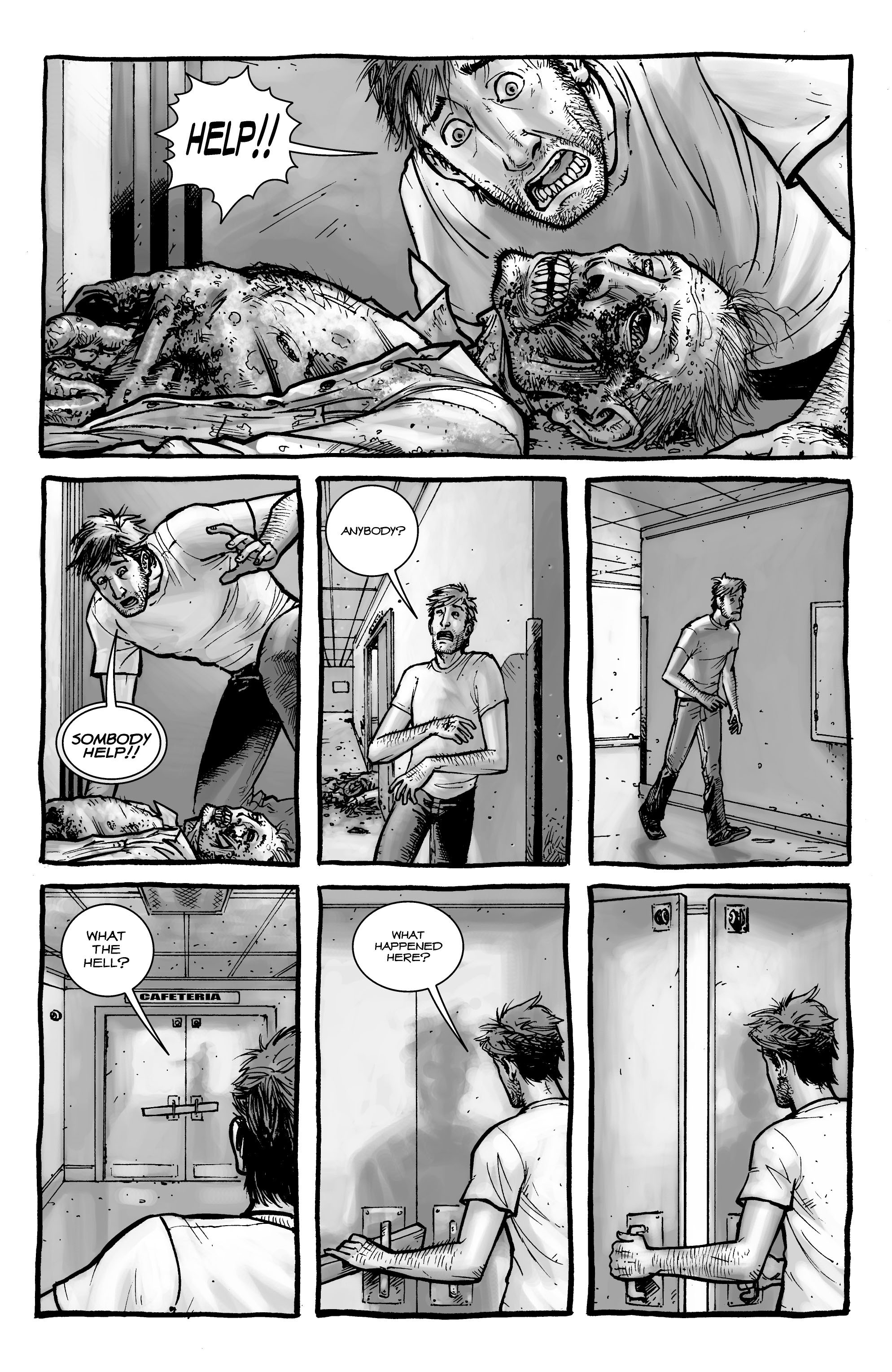 The Walking Dead issue 1 - Page 7