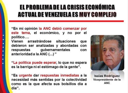 La ANC también implosiona: Por estas palabras sacaron a Isaías Rodríguez de la directiva