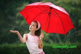 gambar ketika hujan