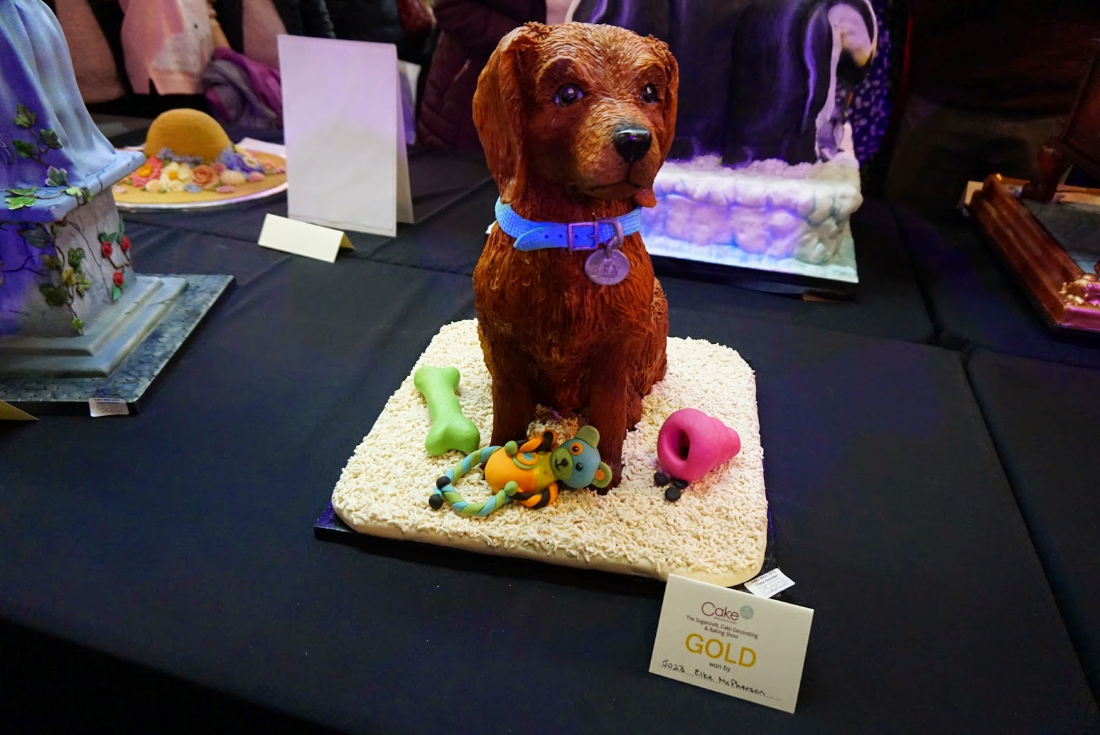 Cake International Show Manchester 2015 Dog Cake