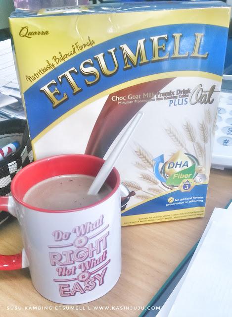 ETSUMELL - Choc Goat Milk Premix Drink Plus Oat