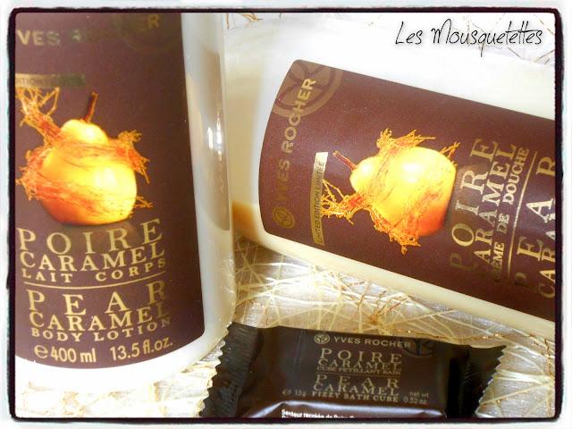Poire Caramel édition limitée - Yves Rocher - Blog beauté Les Mousquetettes©