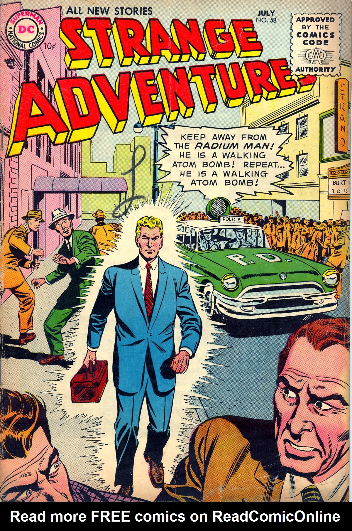 Strange Adventures (1950) 58 Page 1