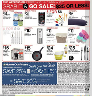 Home Outfitters flyer August 18 – 24, 2017