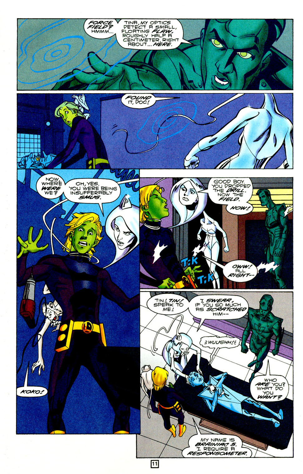 Legion of Super-Heroes (1989) 95 Page 11