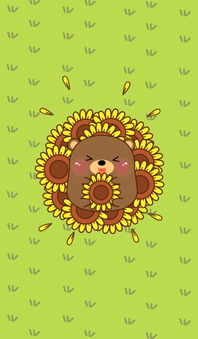 Love Cute Bear Theme