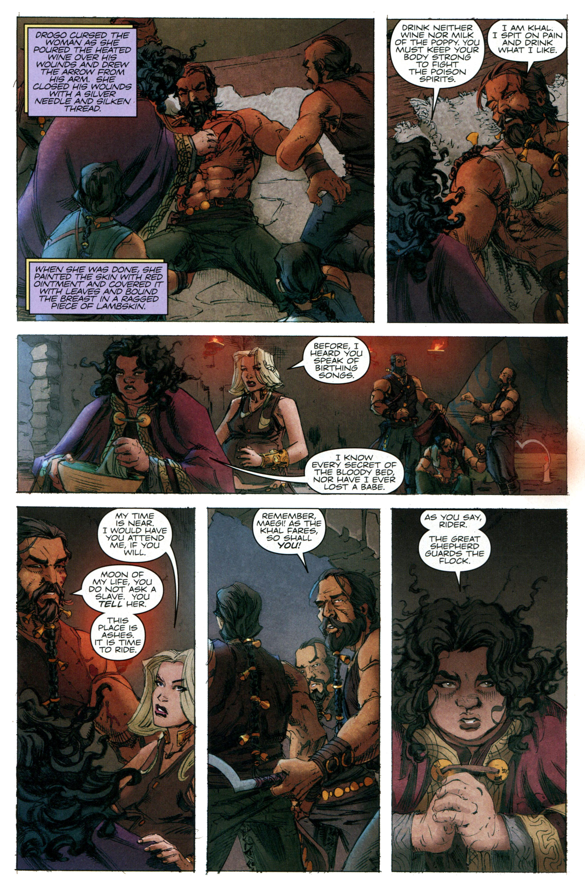 Read online A Game Of Thrones comic -  Issue #20 - 18