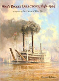 The Best Compendium on Steamboats. Almost 6,000 entries 1848-1994. ------- Worth Every Penny!