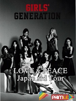 WOWOW Prime SNSD LOVE & PEACE Japan 3rd Tour