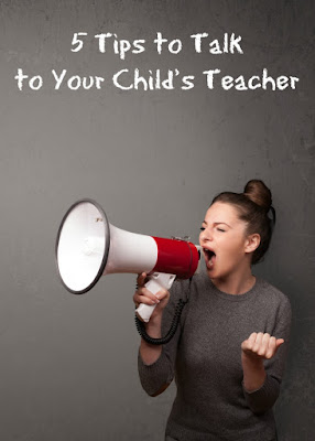 5 tips for talking to your child teacher
