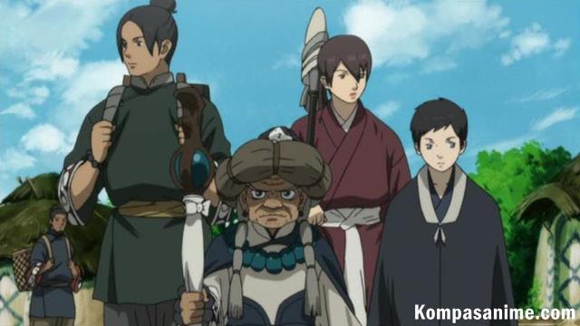anime fantasy terbaik mirip akatsuki no yona