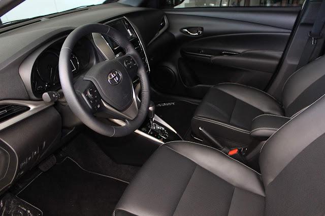 Toyota Yaris XLS 1.5 Automático 2019- interior