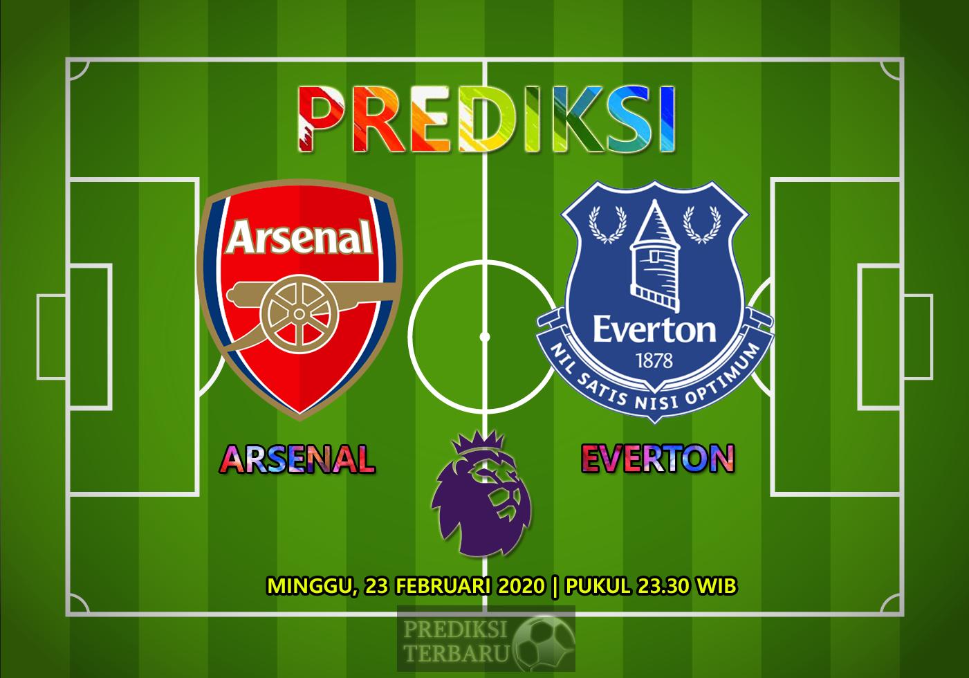 Prediksi Arsenal Vs Everton, Minggu 23 Februari