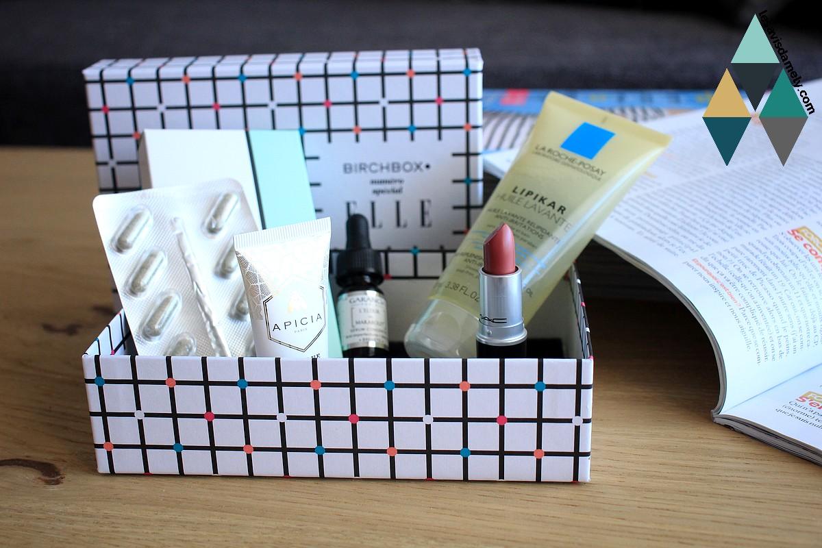 avis et test birchbox box beauté revue blog