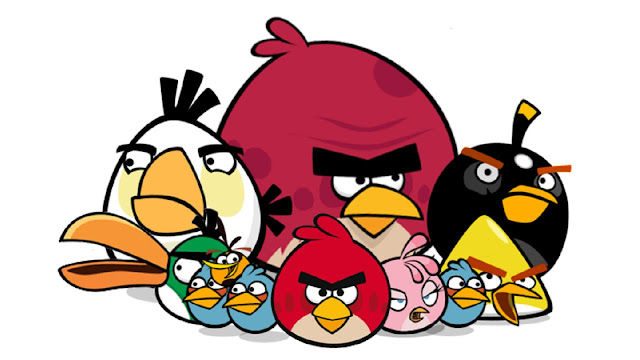 The Angry Bird Family
