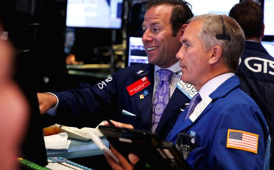Nasdaq closes at record, Dow rallies more than 400 points after jobs report