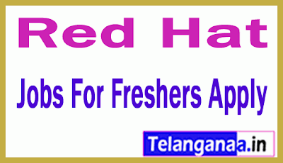 Red Hat Recruitment Jobs For Freshers Apply