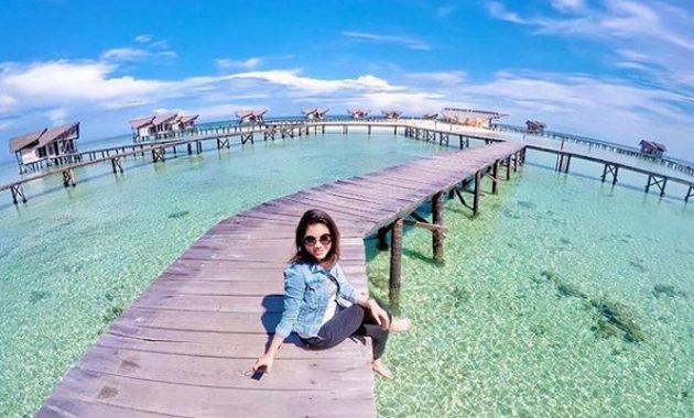 Spot Foto Selfie Instagenic Pulau Cinta Gorontalo