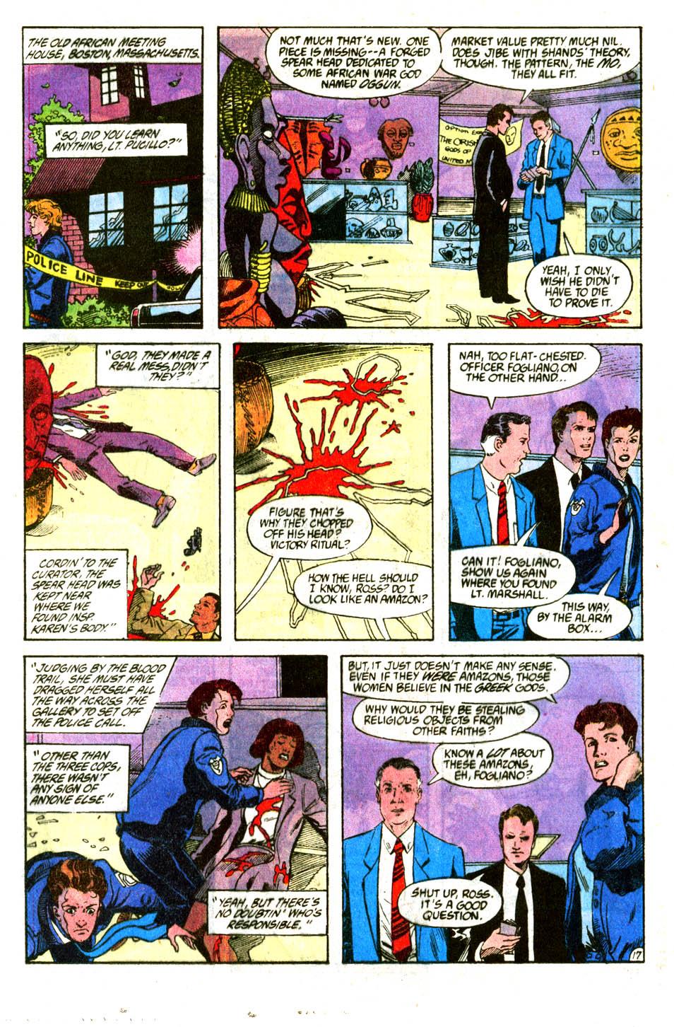 Read online Wonder Woman (1987) comic -  Issue #56 - 19