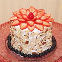 DIY No Bake Fruit Cake