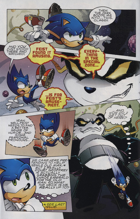 Read online Sonic The Hedgehog comic -  Issue #220 - 3
