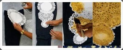 Kot Pantolona Simli  Süsleme Yapımı, Resimli Açıklamalı 1