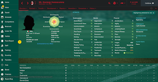 Football Manager 2017 Wonderkid Goalkeeper Gianluigi Donnarumma