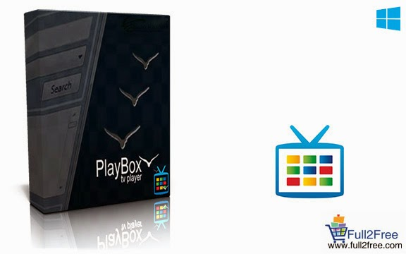PC Software : PlayBOX TV Player v2.8.0