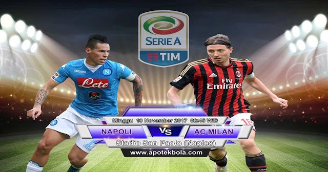 Napoli vs Ac Milan 19 November 2017
