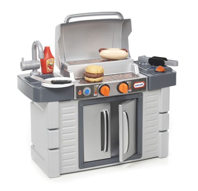 Little Tikes Kitchen With Grill Game