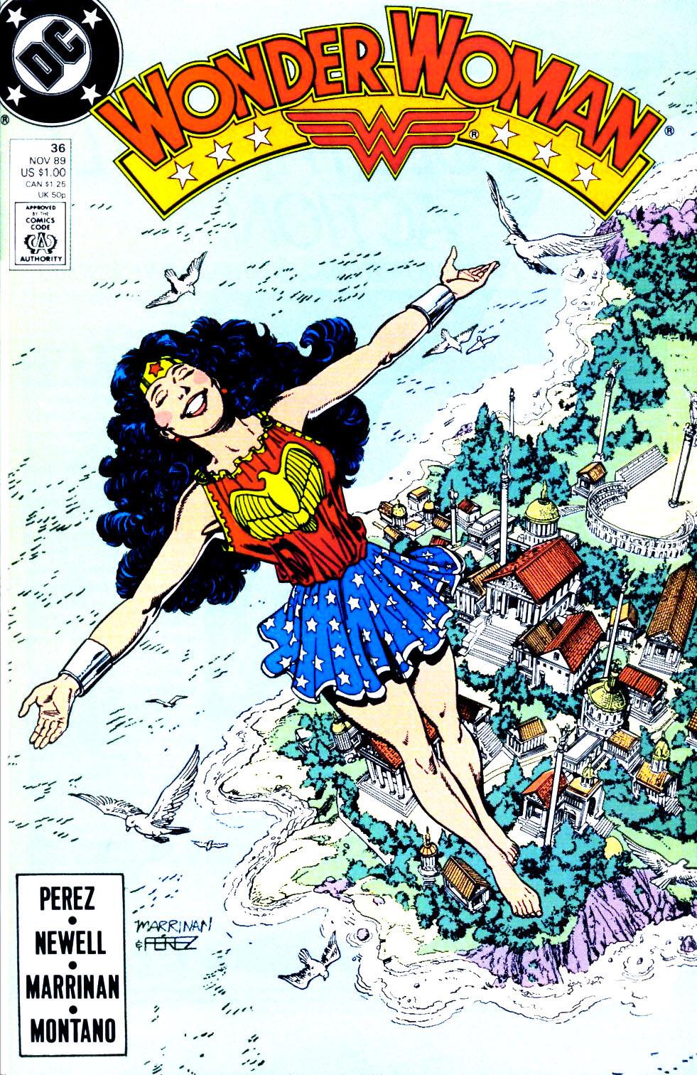 Read online Wonder Woman (1987) comic -  Issue #36 - 1